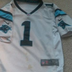 Carolina Panthers Jersey Sz small $38+Free $5 gift